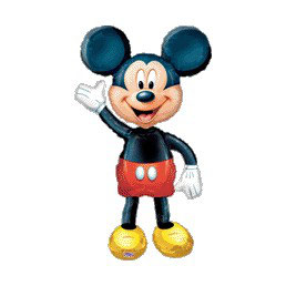 Palloncino Air Walker mylar Mickey