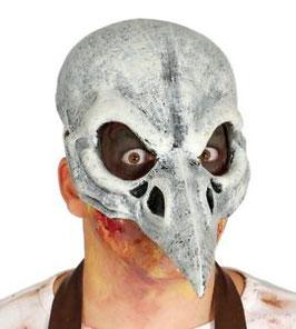 Maschera teschio uccello