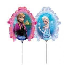 Palloncino Mylar Mini Shape Mirror Frozen 1 pezzo