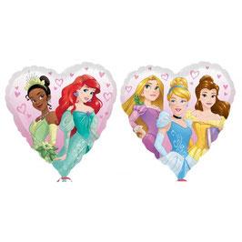 Palloncino cuore Principesse Disney
