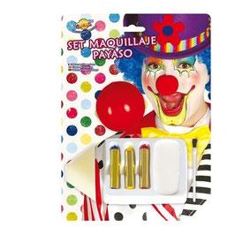 Set make up clown
