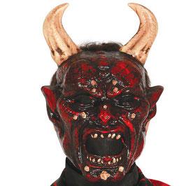 Maschera diavolo belzebù