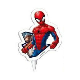 Candelina Spiderman 1pz