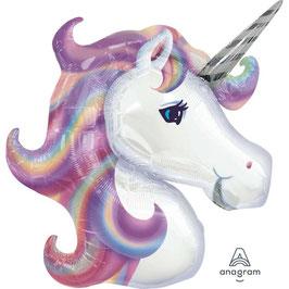Palloncino mylar Unicorn Pastello