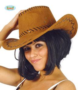 Cappello cowboy marrone