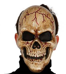 Maschera teschio marrone