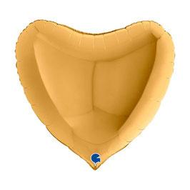 Palloncino XL Mylar Cuore 1 pezzo 91 cm