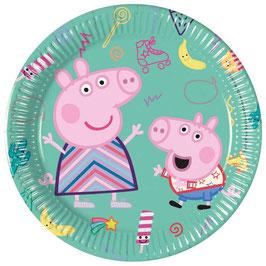 Piatto Piccolo Peppa Pig Messy 8pz