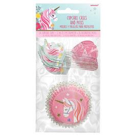 Kit unicorno cupcake