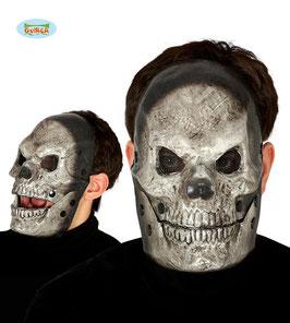 Maschera teschio con mandibola mobile