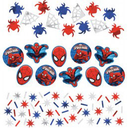 Confetti spiderman