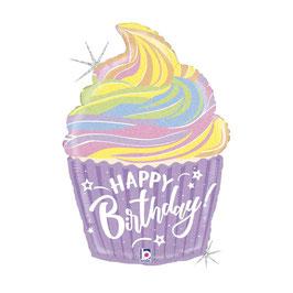 Palloncino Cupcake Pastel