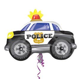 Palloncino auto polizia