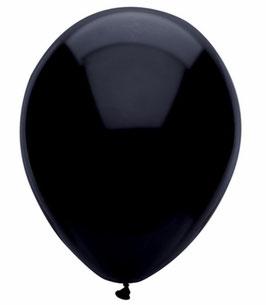 """Palloncini pastello 12""""/30cm nero"""