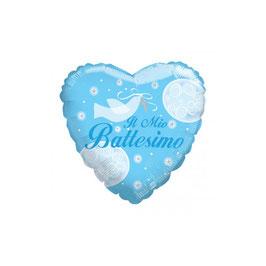 """Palloncino cuore """"il mio battesimo"""""""