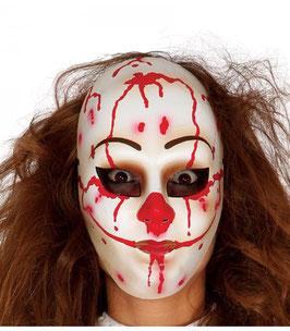 Maschera pagliaccio assassino