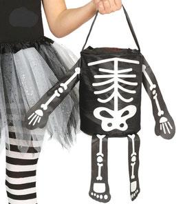 Borsa scheletro porta caramelle
