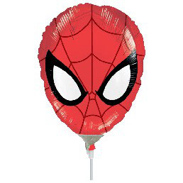 Palloncino Mylar Mini Shape Spiderman 1 pezzo