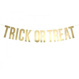 "Festone Halloween ""Trick or Treat"" Metal"