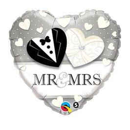 Palloncino Cuore sposi