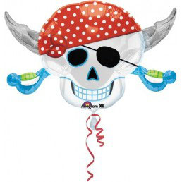 Palloncino Teschio dei pirati