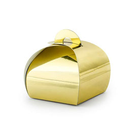 "Mini Boxes ""Elegant Gift Box"" Oro 10pz"