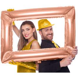 Cornice gonfiabile oro
