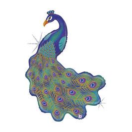 "Palloncino 42"" Super Shape Pavone ""Peacock"""