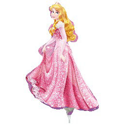 Palloncino Myler Mini Shape Principesse 1 pezzo