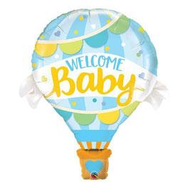 """Palloncino 42"""" Jumbo Shape """"Welcome Baby"""""""