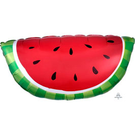 """Palloncino 32"""" Super Shape mylar Anguria """"Watermelon"""""""
