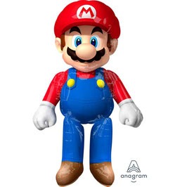 Palloncino Air Walker Mylar Super Mario Bros