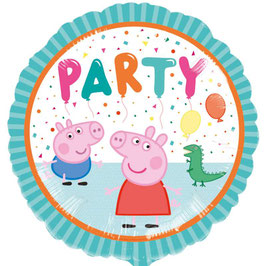 "Palloncino 17"" mylar Peppa Pig ""Party"""