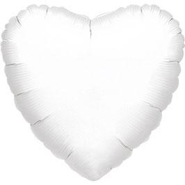 Palloncino cuore grande bianco