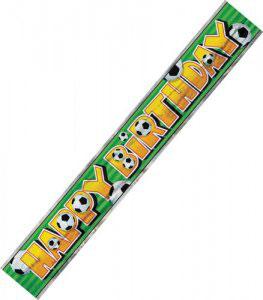 Banner Calcio Party Birthday