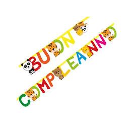 """Festone Buon Compleanno """"Zoo Party"""""""