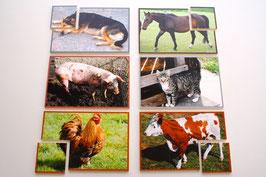 TierPuzzle Bauernhof
