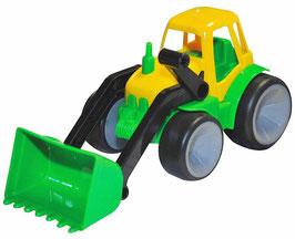 Traktor mit Schaufel, 8er Set