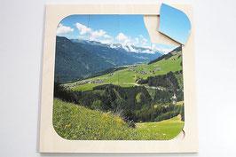 Rahmenpuzzle Berge