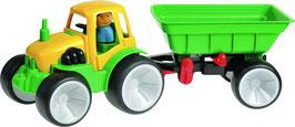 Traktor mit Kipper