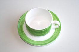 Arcoroc Brush Tasse mit Untertasse