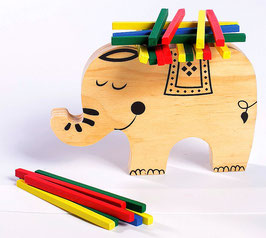 Stapelspiel Elefant
