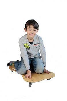 Rollbrett aus Holz
