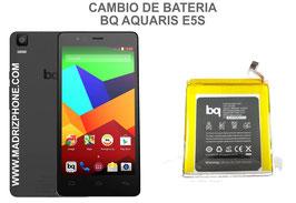 Cambiar / Sustituir Bateria BQ AQUARIS E5S Calidad Premium