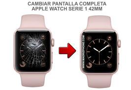 Cambiar / Reparar Pantalla completa ( CRISTAL + LCD ) APPLE WATCH Serie 1 A1803 42MM