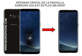 Cambiar / Reparar Cristal de la Pantalla Samsung Galaxy S8 Plus SM-G955f