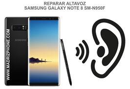 Cambiar / Reparar Altavoz Auricular Samsung Galaxy Note 8 SM-N950F