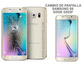 Cambiar / Reparar pantalla completa Samsung Galaxy S6 EDGE SM-G925F ORIGINAL