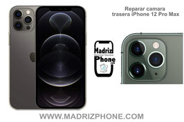 Cambiar / Reparar Cámara Trasera Apple iPhone 12 Pro Max Original