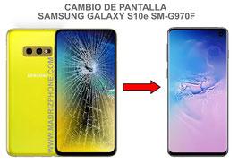 Cambiar / Reparar pantalla completa Samsung Galaxy S10e SM-G970F